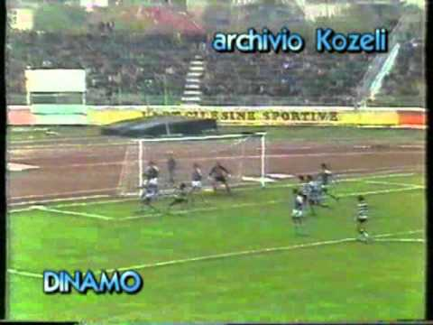 Calcio Coppa UEFA 1985-1986--Dinamo Tirana-Sporting Lisbona 0-0..video di Agron Kozeli.mp4