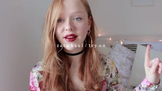 ZARA HAUL & TRY ON!