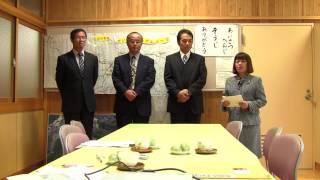 七山小中学校(一貫校一体型)視察(1)
