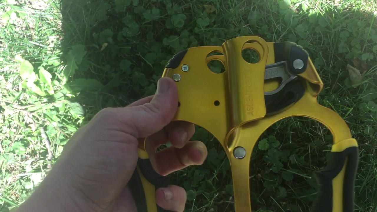 How to place friction saver, Petzl Treesbee