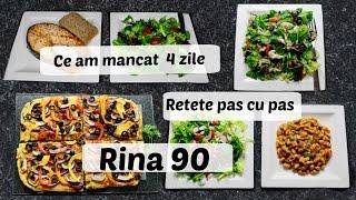 Ep 1 /Ce mananc in 4 zile de Rina / Retete dieta Rina 90 /Dieta Rina/ What i eat to lose weight /