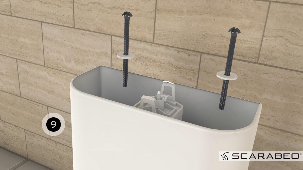Scarico Water A Muro guida all'installazione - linea cassetta monoblocco