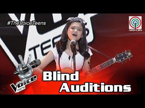 The Voice Teens Philippines Blind Audition: CJ De Guzman - Say You Won't Let Go