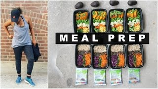 CHEAP & EASY VEGAN MEAL PREP (1 HOUR) TO LOSE WEIGHT - Meal Prep With Me! #5