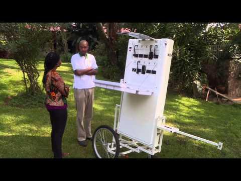 Innovate Africa - ARED Solar Kiosks - Al Jazeera
