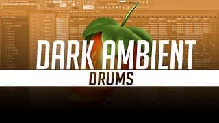 How To Make A Dark Ambient Drums in FL Studio 20 | Day 6 | SIKKY BEATS
