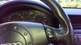 1999 audi a4 b5 quattro boost gauge install on the cheap