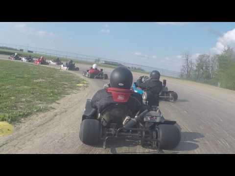 gokart racing at little eldora speedway