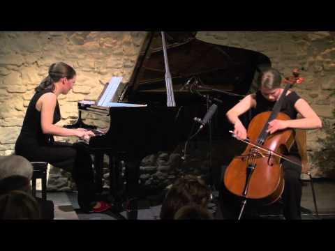 Maria Gabryś & Marie Waldmannová live in concert; Béla Bartók