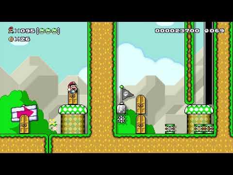 Super Mario Maker 100 Mario Challenge Super Expert No Skips 90