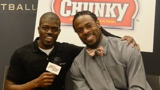 Richard Sherman Is A Mama's Boy! Talks Defense And 10 Interceptions! - Campbell's Chunky Soup!