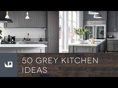 50 Grey Kitchen Ideas