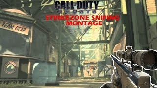 Call of duty ghosts sniping montage (strikezone)