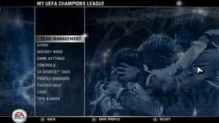 UEFA CHAMPIONS LEAGUE GAME 06/07