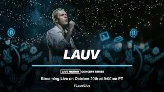 Lauv ~how i'm feeling world tour~ [Concert Livestream]