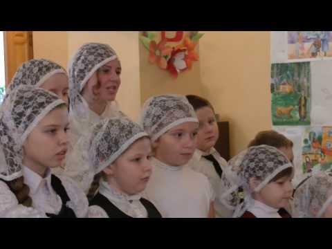 Концерт посвящённый Дню Матери в Воскресной школе при Успенском Соборе г  Нолинска