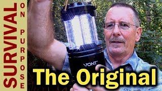 Vont LED Camping Lantern - The Best Collapsible LED Lantern?