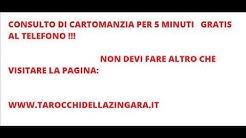 Cartomanzia 5 minuti gratis -  Cartomanti al telefono 899.158.079 www.tarocchidellazingara.it