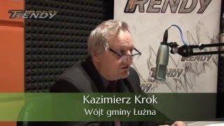 Wojt gminy Łużna, Kazimierz Krok o inwestycjach