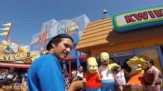 HskyArt Universal Studios Hollywood USH Swirl Video V28 | HSKY