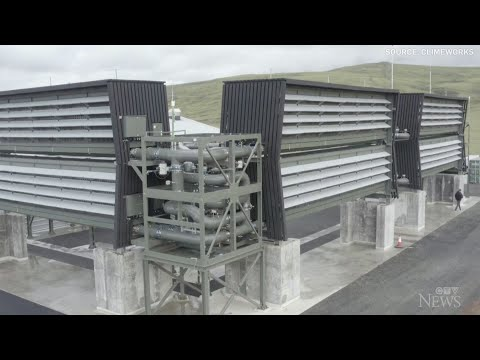 World's largest carbon capture plant opens in Iceland