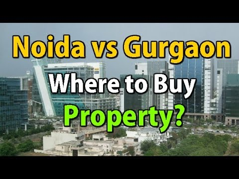 Best Property Bets : Noida vs Gurgaon Real Estate | The Property Guide