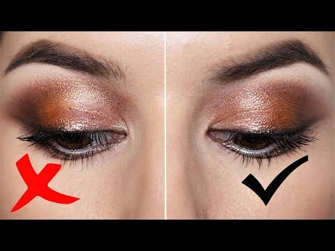 How To STOP Your Eyeshadows From Creasing