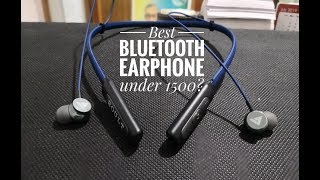 Boult Audio ProBass Curve Neckband Bluetooth Earphone with mic unboxing and overview