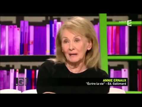 LGL 20111201 Annie Ernaux Ecrire la vie