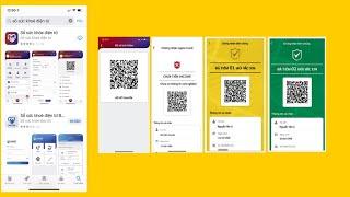 Hướng dẫn cài sổ sức khỏe điện tử  - Cập nhật tiêm chủng - Thẻ vàng - Thẻ xanh tiêm chủng screenshot 4