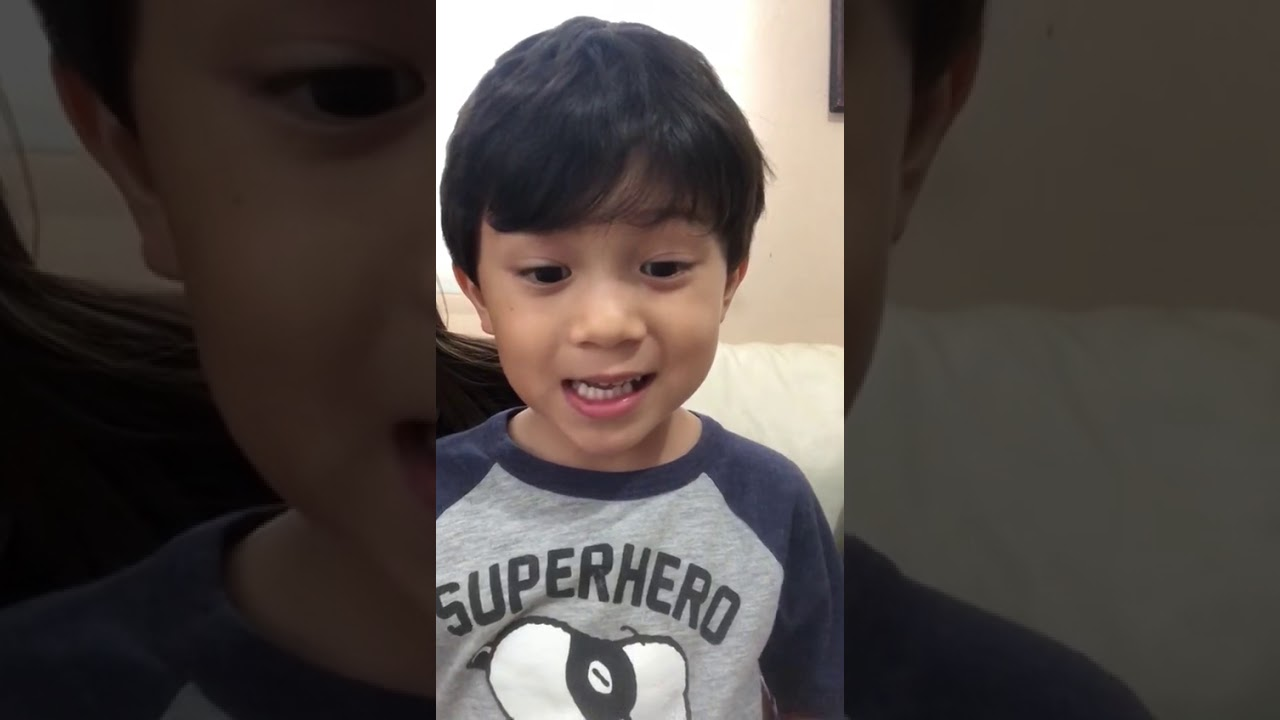 A Great Message from a 5 Year Old to the World