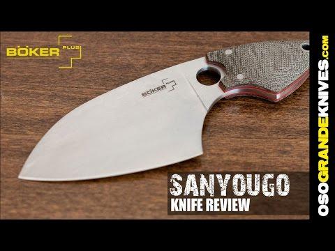 Boker Plus Voxnaes SanYouGo Knife Review   OsoGrandeKnives