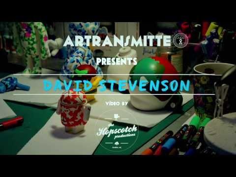 Artransmitte Interview Artist David Stevenson