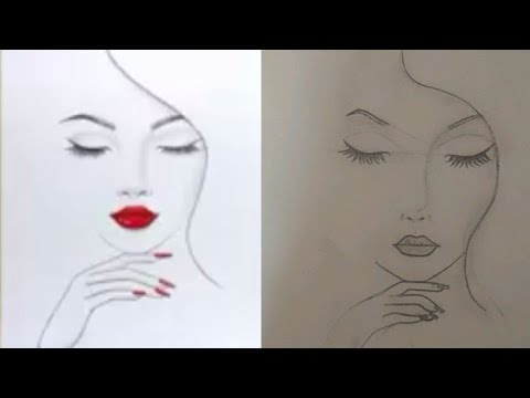 | I tried to recreate the drawings of Farjana drawing ...