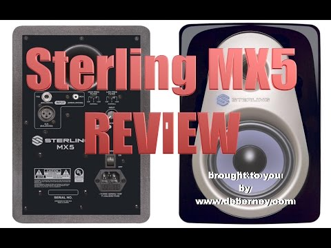 Sterling Studio Monitor Review - Demo