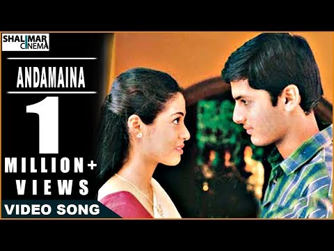 Jayam Movie || Andamaina Manasulo Video Song ||  Nitin & Sadha