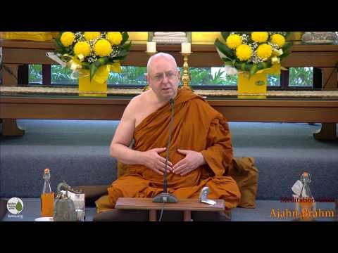 Guided Meditation   Ajahn Brahm   24 February 2018