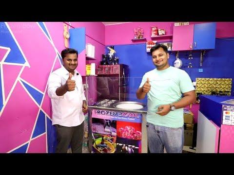 0 - Frozen Bowl - Roll Ice Cream - Moodabidri