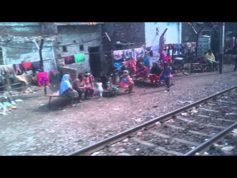 Life on the tracks near Amritsar, India