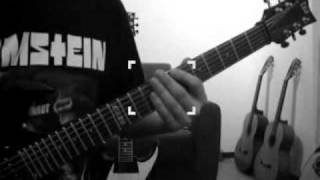RAMMSTEIN WAIDMANNS HEIL COVER+TAB (Paul´s guitar part)