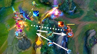 GHOST KICK 3 KNOCK UP + YASUO ULT FOLLOWED - CHINESE LEE SIN MONTAGES REMIX - League of Legends