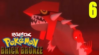 ROBLOX Pokemon BrickBronze: Groudon Appears | Clearing Mt. Igneus of Team Eclipse