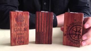 Wooden Mechanical Box Mod