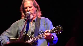 Jeff Bridges & the Abiders - Ring Them Bells (Bob Dylan cover) @ El Rey Theatre (2013/04/25 LA)