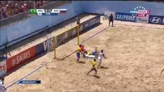 Пляжный футбол. Чемпионат мира 2015. 1/4 финала. Бразилия - Россия 16.07