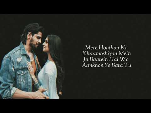 Kinna Sona (Lyrics) Marjaavaan   Sidharth M, Tara S   Meet Bros, Jubin Nautiyal, Dhvani Bhanushali