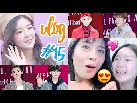 Vlog #15: Day 4 in Seoul (KPOP IDOLS UP CLOSE + we ate LIVE octopus + I SLEEP TALK? and more!!)