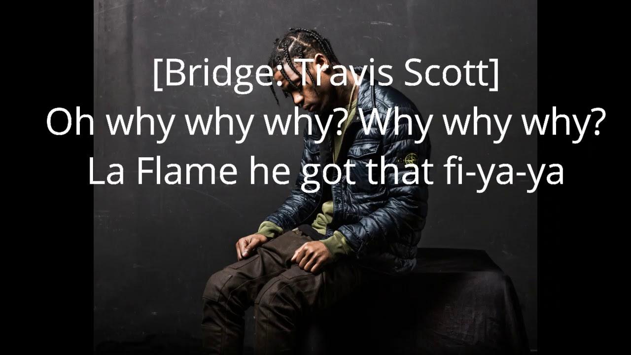 TRAVIS SCOTT x METRO BOOMIN x 808 MAFIA &quot-LA FLAME&quot- BAS