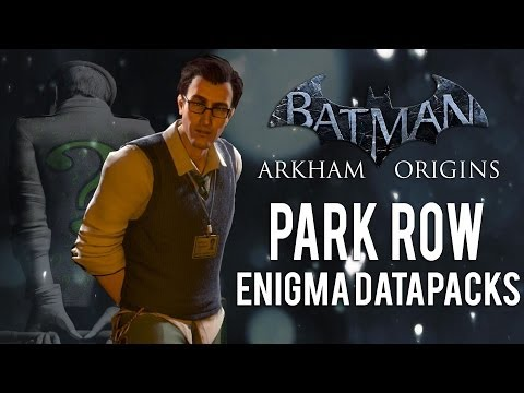 Batman Arkham Origins - Park Row - All Enigma Datapacks / Extortion Files Locations