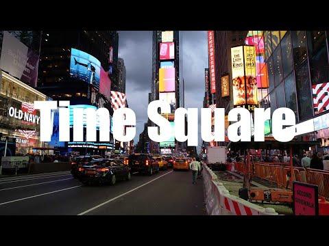 Time Square, New York - 4K UHD - Virtual Trip